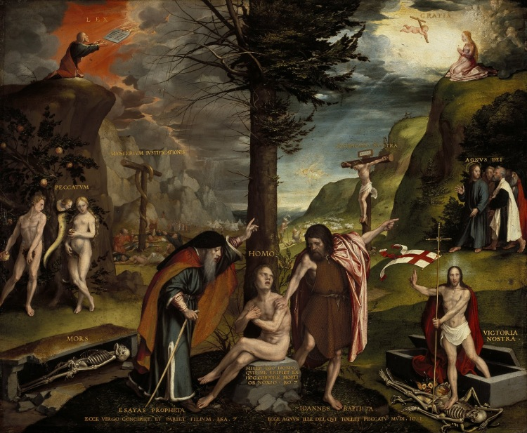 Hans_Holbein_the_Younger_-_An_Allegory_of_the_Old_and_New_Testaments_-_Google_Art_Project