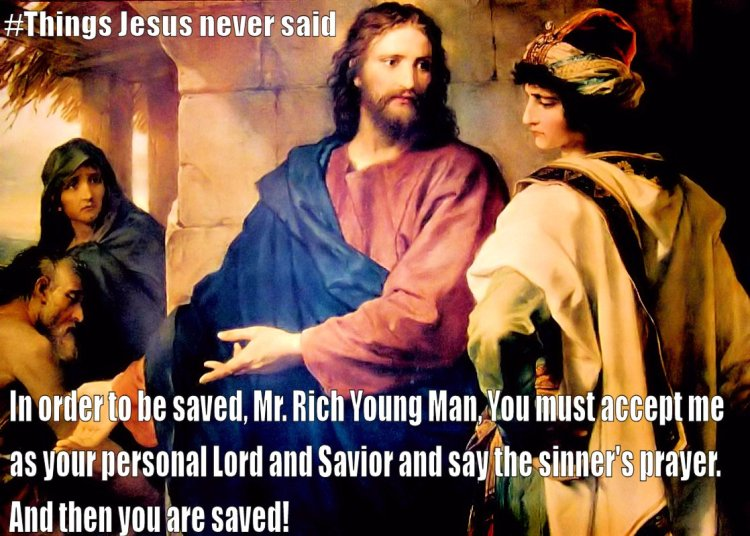 Jesus Rich Young Man